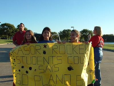 Plano East Homecoming Parade