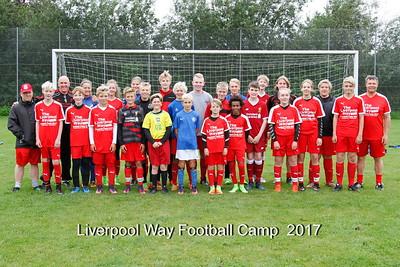 Liverpool way Football Camp 2017 Holdbilleder