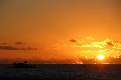 Big Island 2014 Sunset - Time Lapse