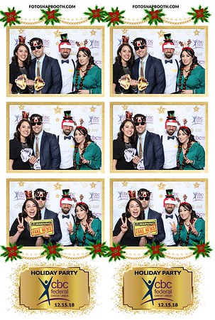 CBCFCU Holiday Party 2018