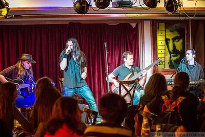 2014.01.17. - The Unplugged Faces a Pecsa Caféban