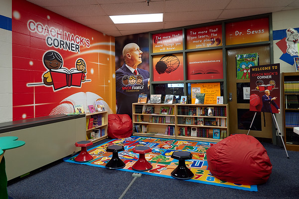 Coach Mack's Corner - Martin Luther King Elementary
