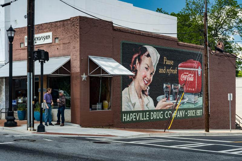 GA, Hapeville - Coca-Cola Wall Sign