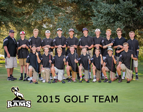 2015 Highland Golf Team