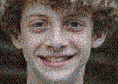 Photomosaic of Nathan