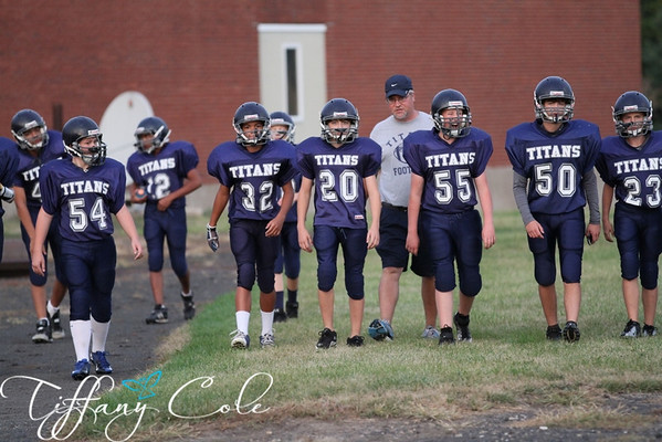 8th Grade Titans vs Rockridge