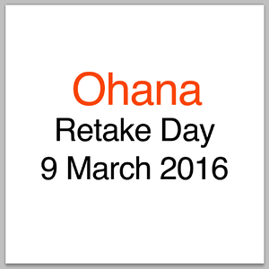 Ohana Retake Day - 9 Mar 16 - Students