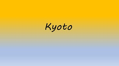 2018 Japan 4 Kyoto Kolor