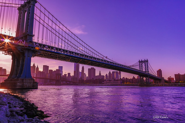 Sunset at Brooklyn Bridge Park