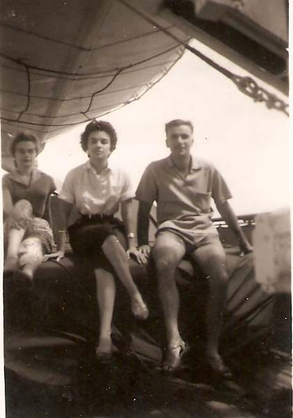 1956 Familia Francisco Paulos A ultima viagem para Lisboa