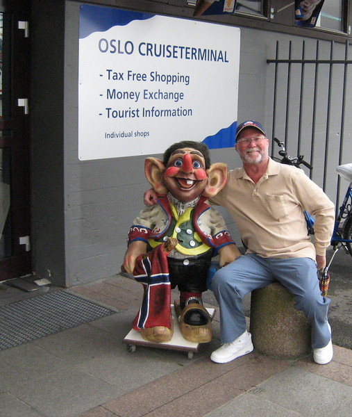 Oslo, Norway - David and the Troll!
