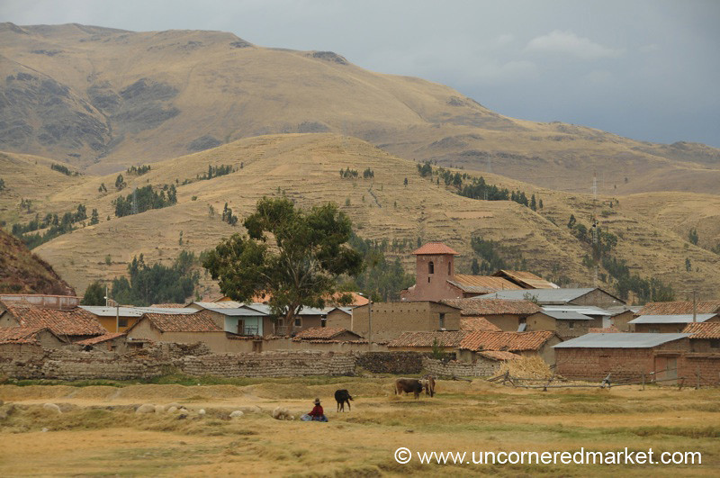 Rural Peru Near Lake Titicaca