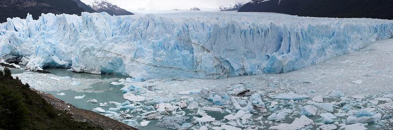 Moreno glacier panorama