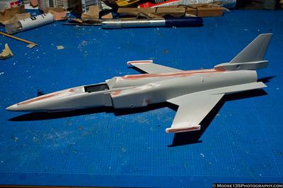X-29 Work In Progress