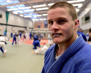 2013 Tonbridge Judo Training Camp 131220A5509: British Champion, Owen Livesey 22, at the Tonbridge International Judo Training Camp on Friday, Dec....