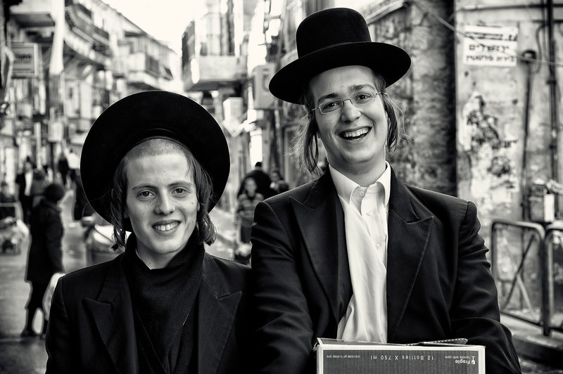 Haredi students.