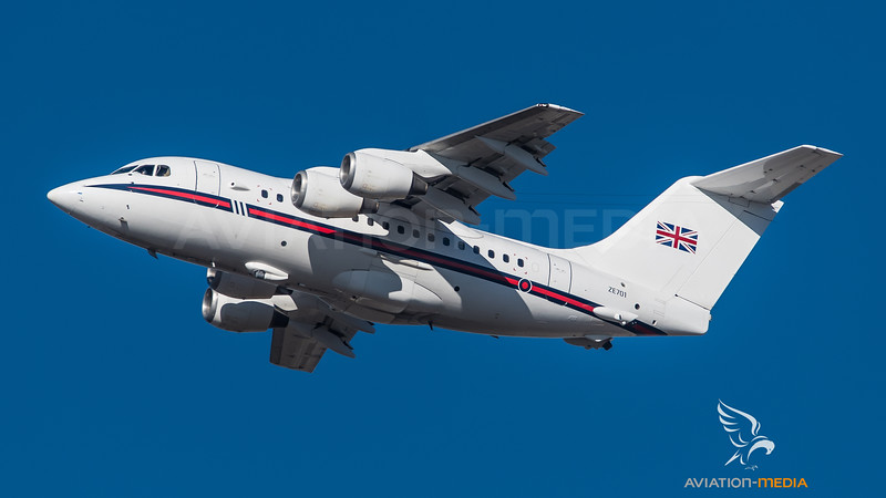 Royal Air Force / British Aerospace BAe 146-100 / ZE701