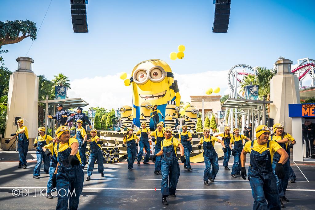 Despicable Me Breakout Party at Universal Studios Singapore / Minion Mob finale