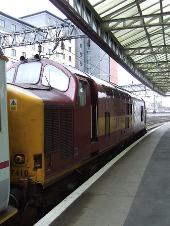 EWS Class 37410 on working 5S26, 12th May 2007