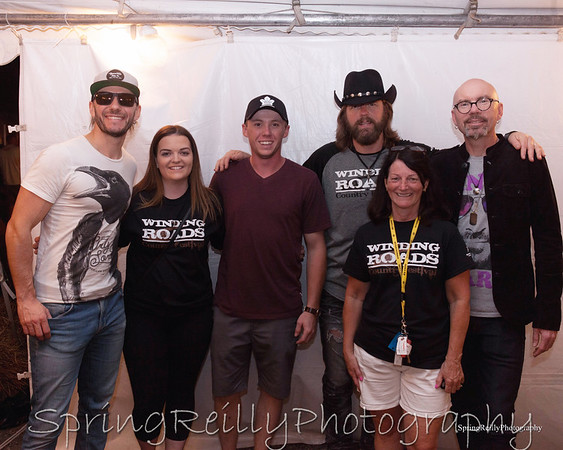 2017 Winding Roads Country Festival-The Road Hammers Meet and Greet