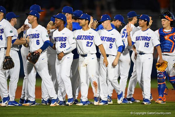 Florida Gators Baseball Opening Night 2018 vs Siena College  02-16-2018
