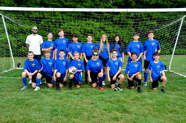 Middle School Soccer Fall 2019