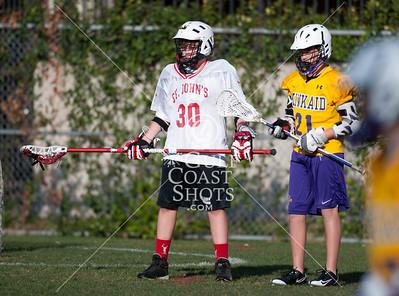 2011-03-10 Lacrosse 7th Boys Kinkaid @ St. John's School