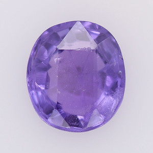 2.74 Unheated antique  purple oval Sapphire (PCS-264)