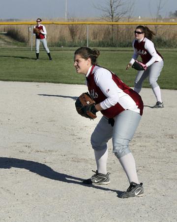 SN Softball vs Attica 2007