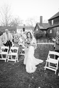 Ceremony- Dunphy Wedding, Deerfield Inn