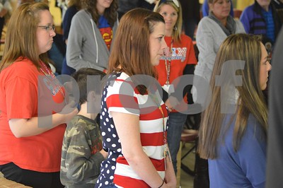 11/11/14 Cain Elementary Veterans' Day Program by Chris Rinehart