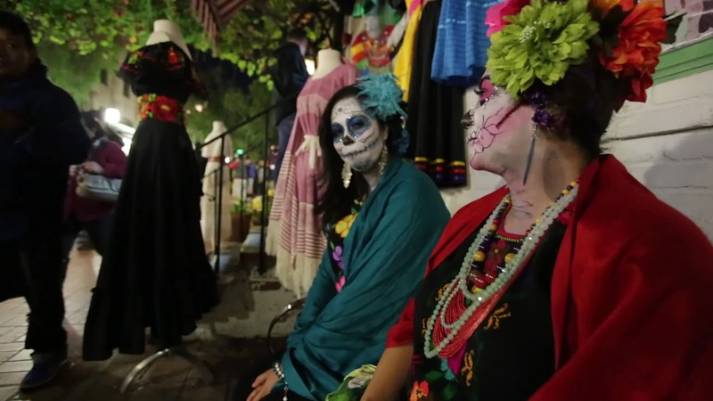 Day of the Dead: Olvera Street, LA