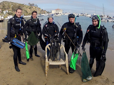 Avalon Underwater Cleanup (all years)