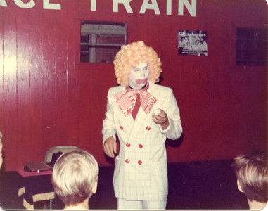 Steve Wronker as Gobbo the Clown