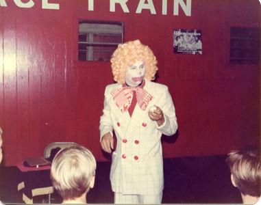 Steve Wronker as Gobbo the Clown