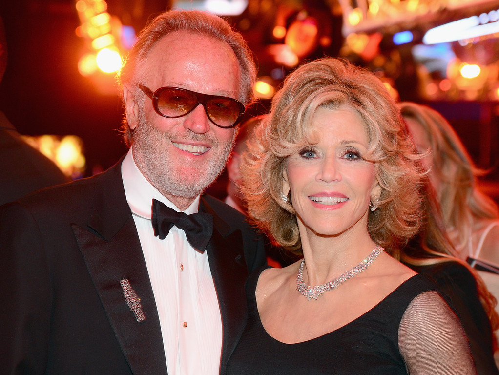 . HOLLYWOOD, CA - JUNE 05:  Actor Peter Fonda (L) and honoree Jane Fonda attend the 2014 AFI Life Achievement Award: A Tribute to Jane Fonda After Party at the Dolby Theatre on June 5, 2014 in Hollywood, California. Tribute show airing Saturday, June 14, 2014 at 9pm ET/PT on TNT.  (Photo by Frazer Harrison/Getty Images for AFI)