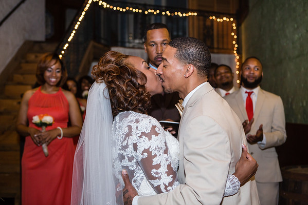 Kim and Reginald Moore Wedding Photos