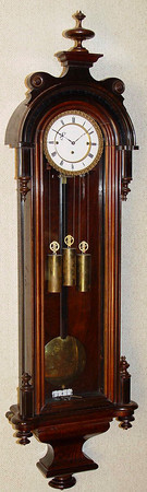 VR-314 - Biedermeier period Austrian Granne-Sonnerie Vienna Regulator by Bohm, in Wien