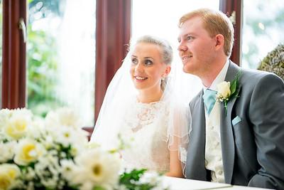 Tom & Kellie Longhorns Wedding