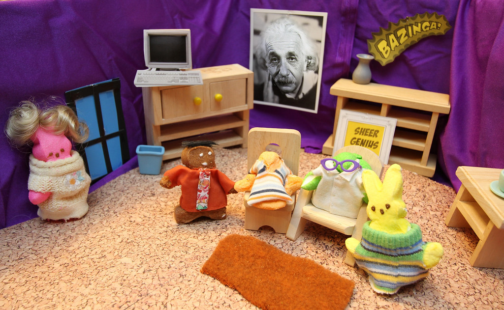 ". ""Big Bang PEEPS,\"" by Margie Born, Inver Grove Heights"