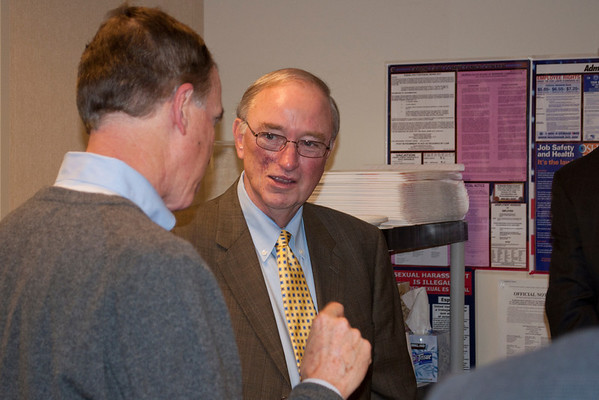 Chancellor Huckaby Visits ATDC