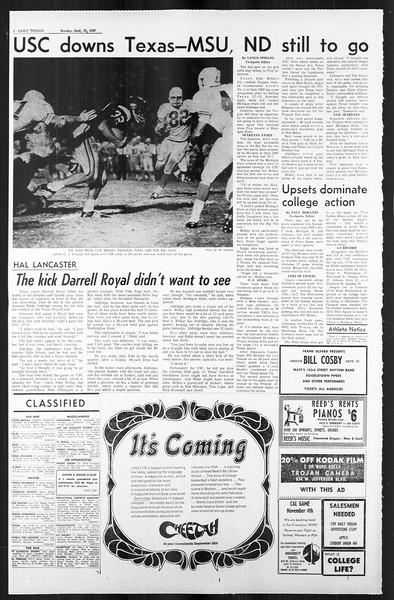 Daily Trojan, Vol. 59, No. 6, September 25, 1967