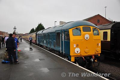 UK Trip: Severn Valley Railway Diesel Gala. 3rd-5th Oct 2013