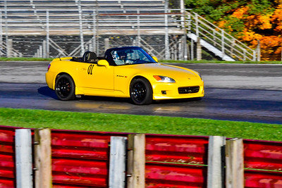 2020 OVR SCCA Oct 16 MO TrackDay Yellow S2000 11