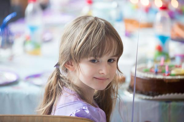 Sophia 6. Geburtstag