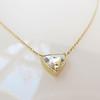 1.54ct Trilliant Rose Cut Diamond Pendant 3