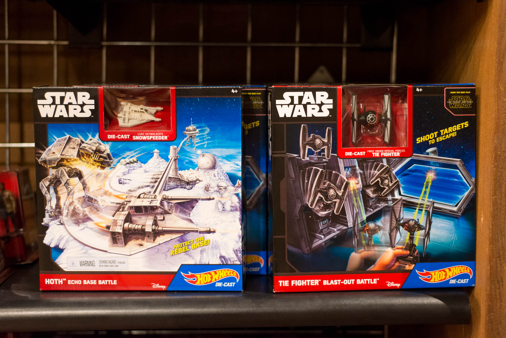 Disney's Hollywood Studios - Star Wars Hot Wheels Toys