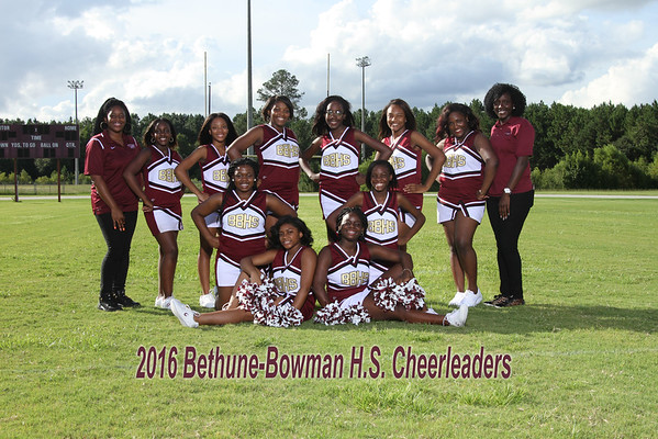 2016 Cheer Varsity