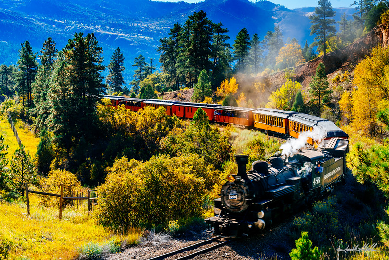 Iconic Silverton Durango Train