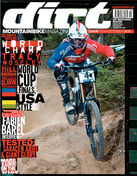 Dirt Magazine Cover - Tracy Mosely